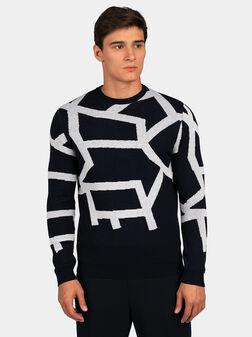 Navy sweater - 1