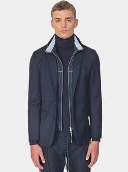 Slim blazer with detachable interior - 1