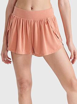 Къси панталони с еластична талия - 1