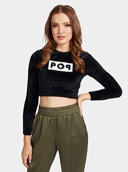 Скъсен пуловер SALLY - 1