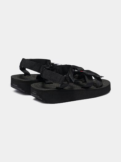 TOMAIA Black sandals - 3