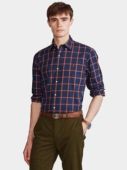Plaid shirt - 1