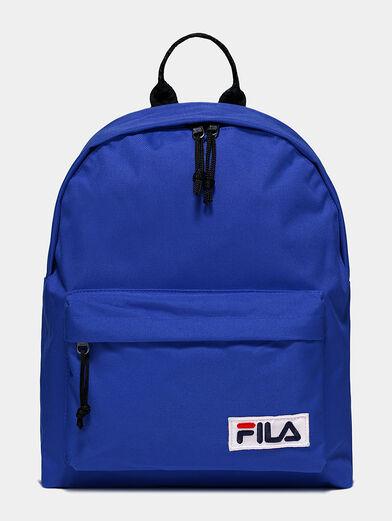 Unisex black backpack - 1