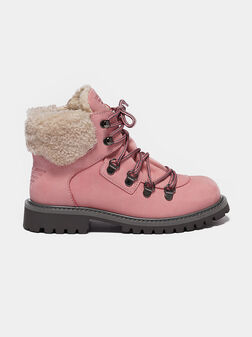Pink boots - 1