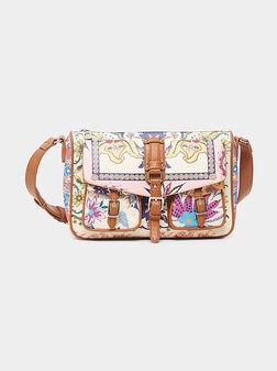 Кросбоди чанта LIVERPOOL с цветен принт - 1