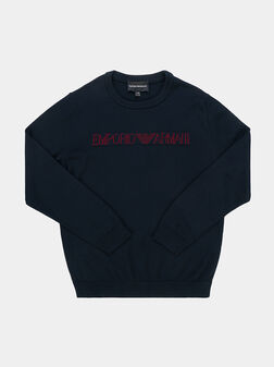 Pullover with logo accent - 1