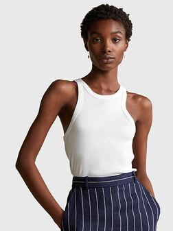 White cotton top - 1