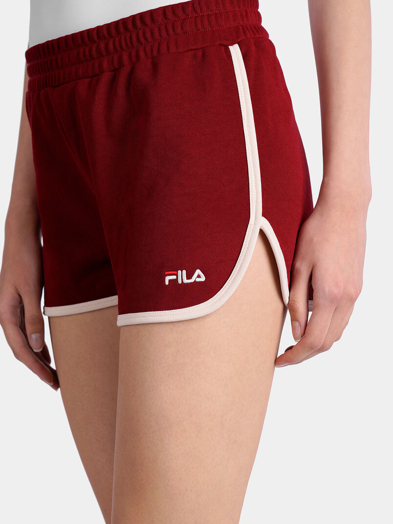 PAIGE JERSEY Shorts in red - 3