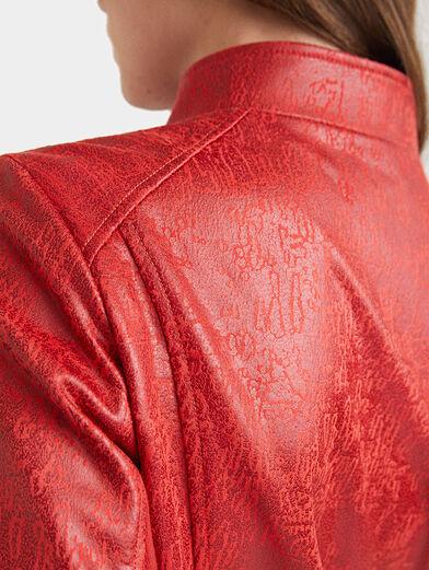 Slim high neck jacket - 4