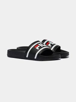 Черни чехли с лого MORRO BAY - 2