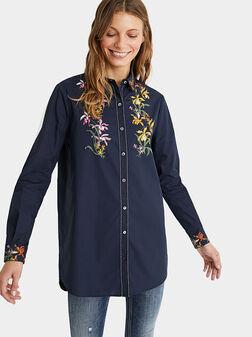 Памучна риза VAILINA - 1