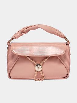 Black handbag with textured details - 1
