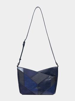 Кросбоди чанта AVA HARRY с пачуърк - 1