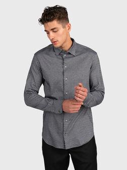 Риза с атрактивен десен - 1