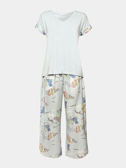 Пижама с принт - 1