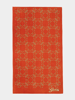 Памучна кърпа с 4G принт - 1