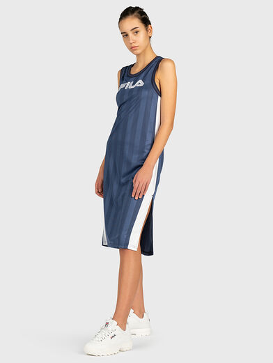 FALA Dress with contrasting print - 1