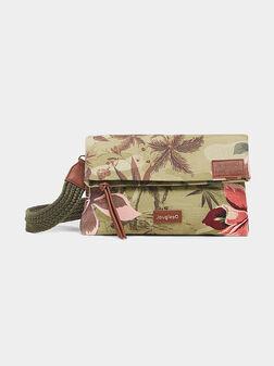 Кросбоди чанта MIAMI с тропически принт - 1