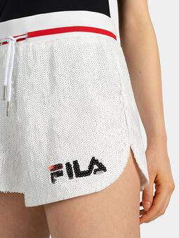 KIKU Shorts with sequins - 4