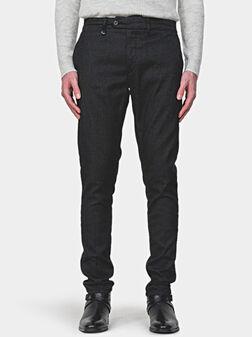Панталон BRYAN в черен цвят - 1