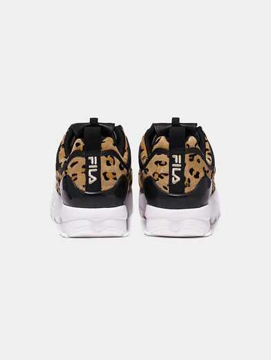 DISRUPTOR Suede sneakers with leopard print - 3