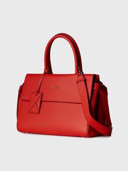 K/IKON Leather top handle bag - 3