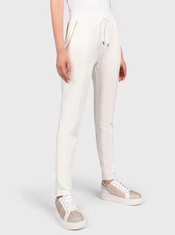 Pants with elastic waist - 1