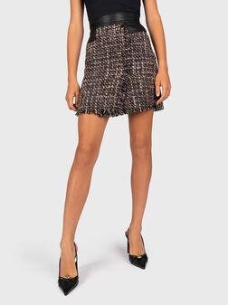 Bouclé skirt - 1