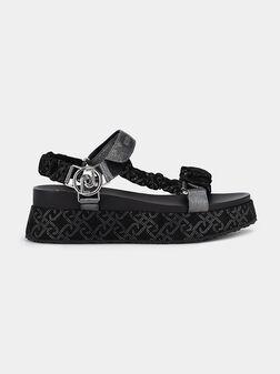 FRIDA Sandals with sparkling details - 1