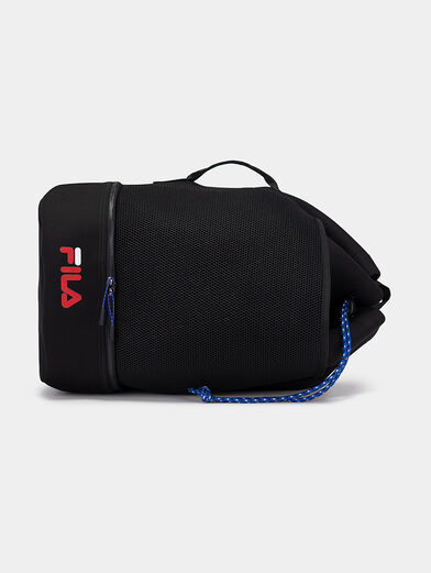 Black backpack with logo - 4