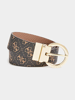 ALBY Reversible belt with logo print - 1