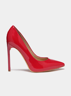 EDMA red patent look pumps - 1