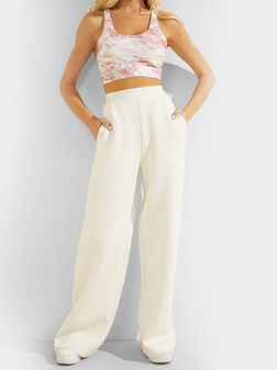 ALLIE Pant with logo branding - 1