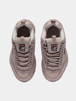 DISTRUPTOR Soft pink sneakers - 5