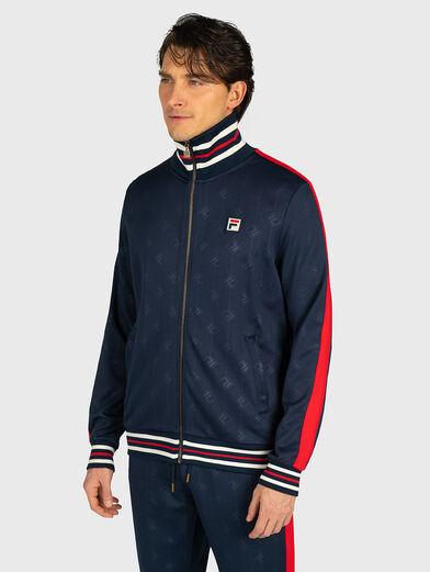 HANK Sweatshirt in blue - 1