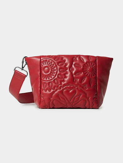 AMBER crossbody bag with quilted effect - 1
