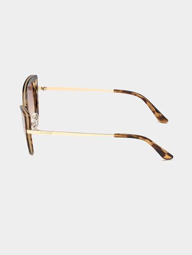Gold color sunglasses - 2