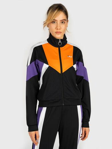 BECCA Sweatshirt with contrasting details - 1