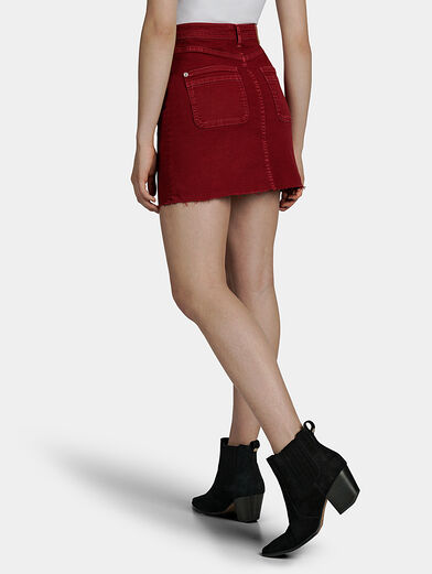 VICKY Denim mini skirt - 2