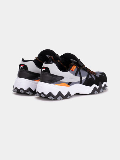 TRAIL-R CB Sneakers with mix of textures - 3