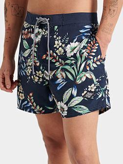 Swim shorts with print - 1