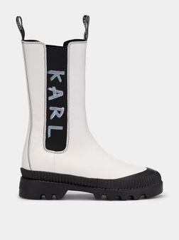 TREKKA II Boots with logo details - 1