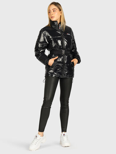 AVVENTURA Padded jacket with glossy effect - 4