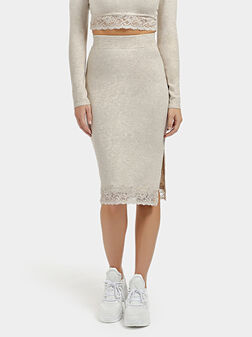 ALTHEA Skirt with lace details - 1