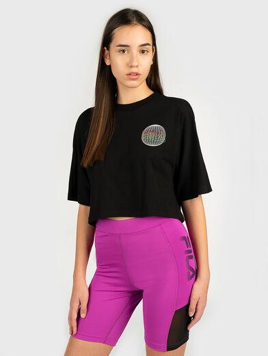 ANEMORE Shortened T-shirt - 1