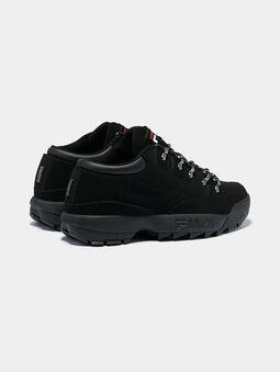 DISRUPTOR HIKER Black sneakers with logo details - 3