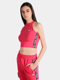 MELODY Pink cropped top - 3