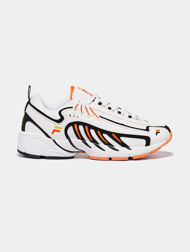 ADRENALINE White runners with orange details - 4