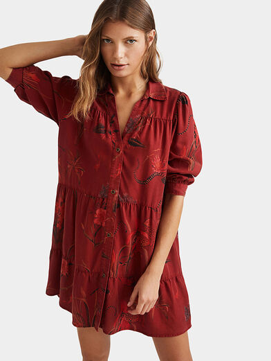 SEVILLA Dress with animal motifs - 1