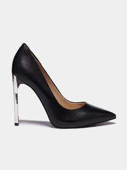 EDMA Black leather pumps - 1